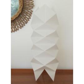 Lampe Origami losanges