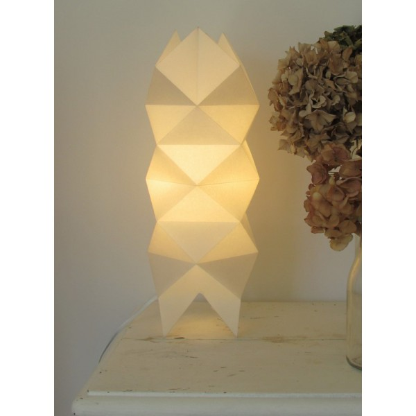 Lampe a poser origami