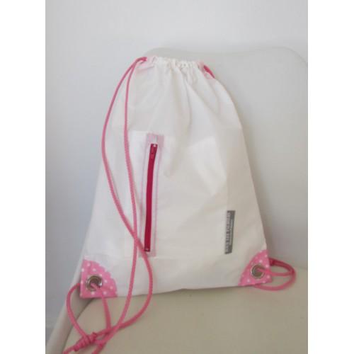 Petit sac à dos toile spinnaker blanc
