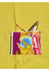 Petites pochettes sac de riz recyclé