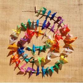 Guirlande spinnaker et perles multicolores n°3