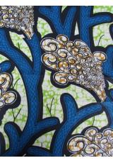 Coussins Wax bleu anis