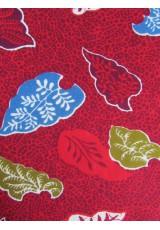Coussins Wax rouge olive bleu bordeaux