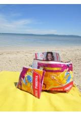 Pochettes sac de riz recyclé