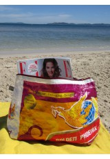 Grande pochette sac de riz recyclé
